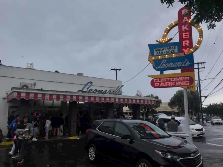 ホノルルのマラサダ店「レナーズ」