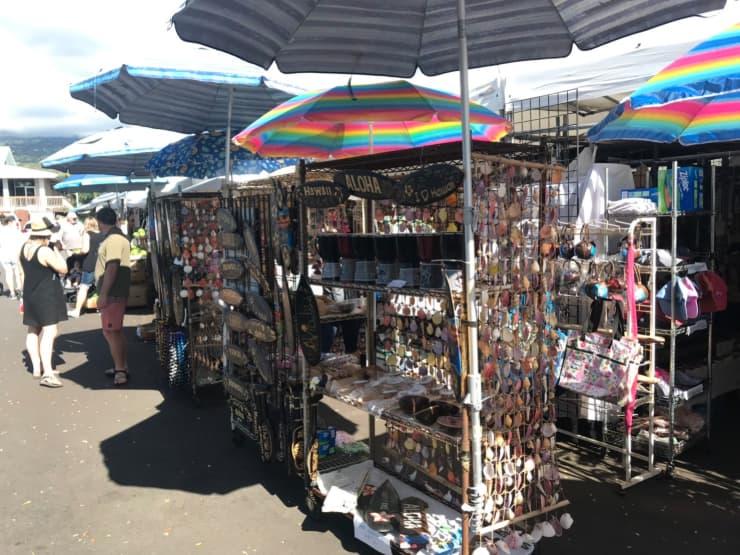 コナのファーマーズマーケットの様子2