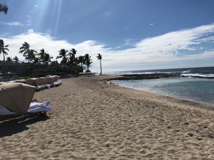 ハワイ島のフォーシーズンズホテル