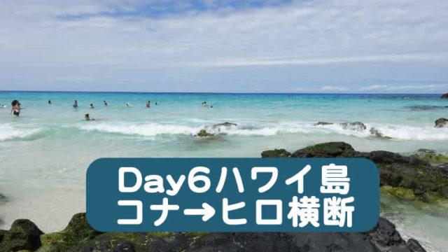 ハワイ子連れブログ2019 6日目
