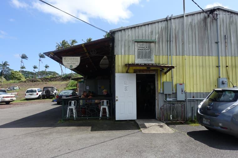 ティンシャークベーカリーの外観 tin shack bakery