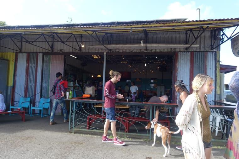 Tin shack bakery(ティンシャークベーカリー)の外観