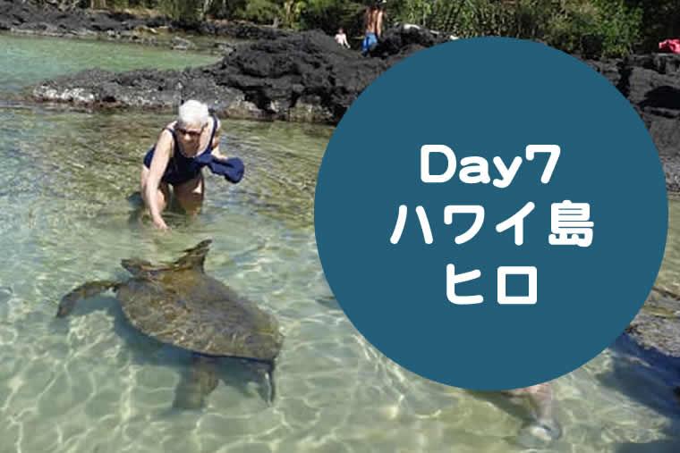 ハワイ子連れブログ2019day7